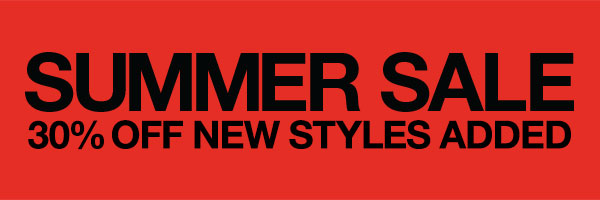 SUMMER SALE 30% OFF NEW STYLES ADDED