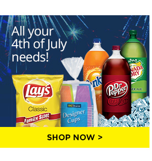 All of your 4th of July needs!