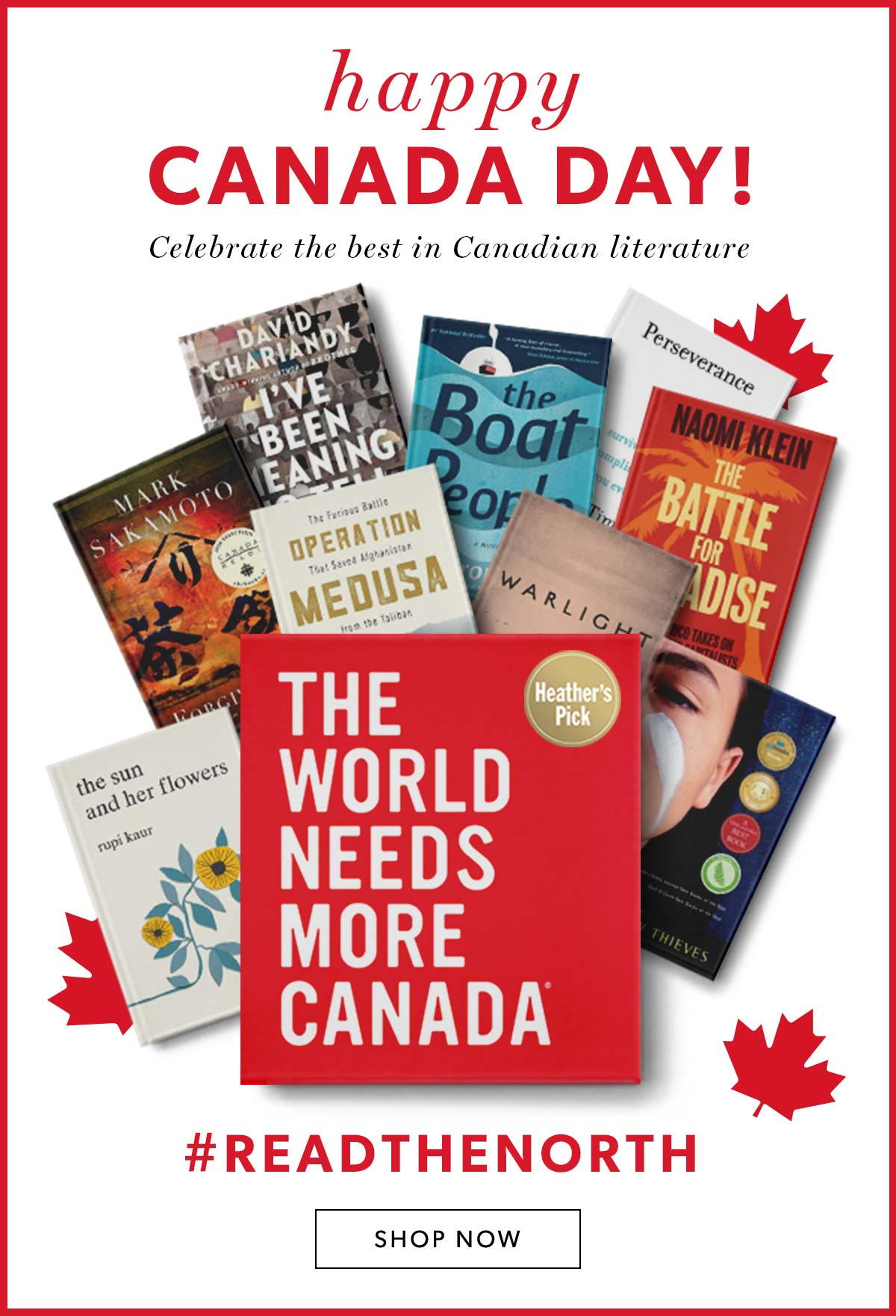 Happy Canada Day! Celebrate the best in Canadian Literature