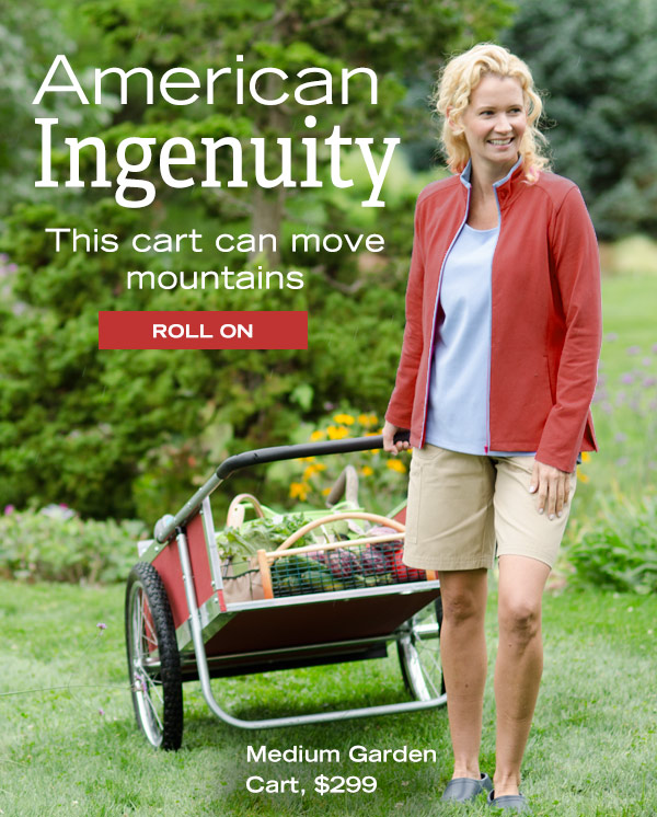 American Ingenuity - This cart can move mountains - Roll On!