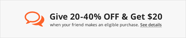 Refer a Friend, Get $20