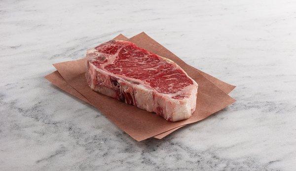 Dry-aged USDA Prime Bone-In NY Strip
