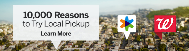10,000 Reasons to Try Local Pickup! Learn More.