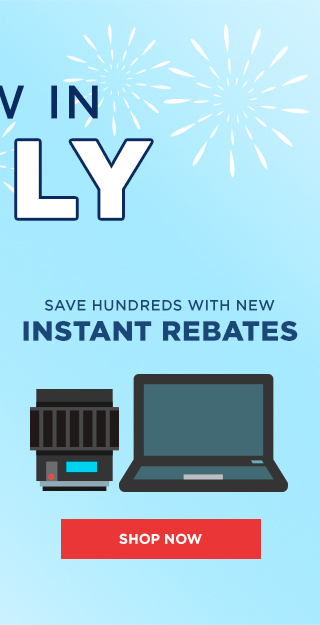 New In July Rebates