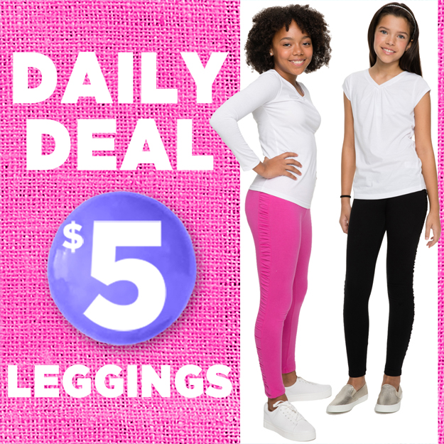 SHOP $5 LEGGINGS