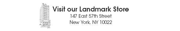 Our Landmark New York Store