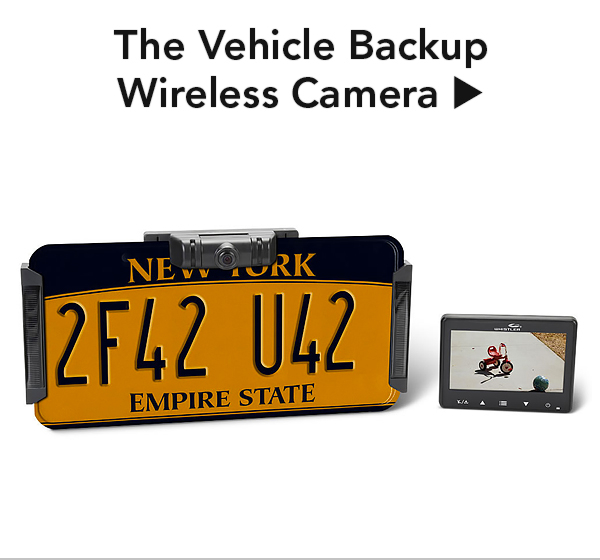 The Vehicle Backup Wireless Camera