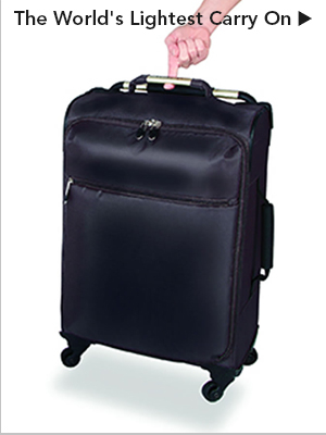 The World's Lightest Carry On