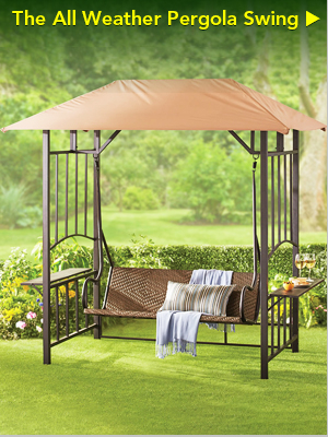 The All Weather Pergola Swing