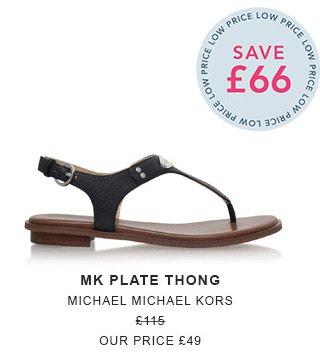 Shop Mk Plate Thong