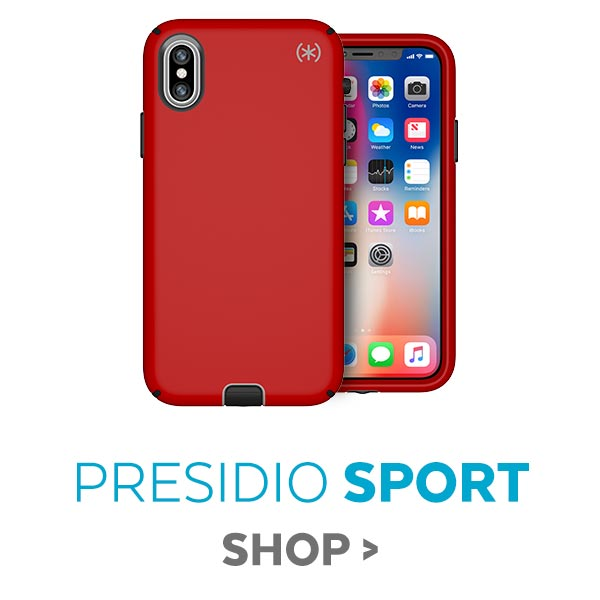 Presidio SPORT cases featuring anti-microbial exterior for iPhone X, iPhone 8 Plus, and iPhone 8, 25% OFF. SHOP NOW