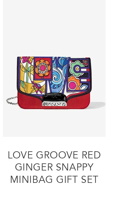 Shop the Love Groove Red Ginger Snappy Minibag Gift Set