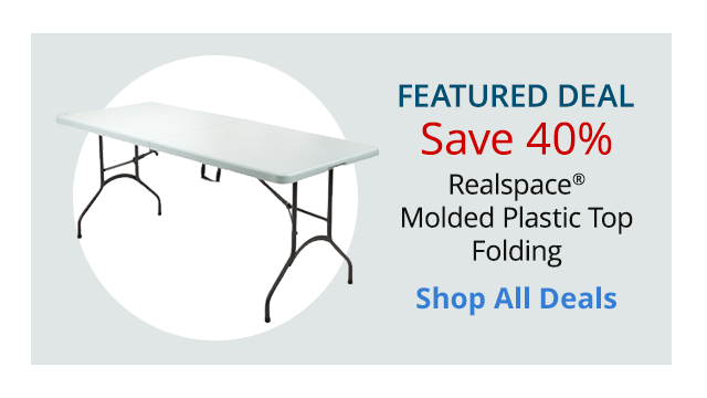 $41.99 Commercial Grade Folding Table