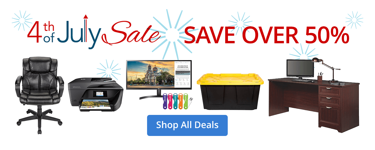 Sun - Wed 4th of July Sale Save over 50%