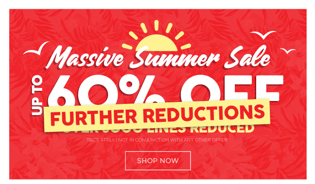 Summer Sale Further Reductions