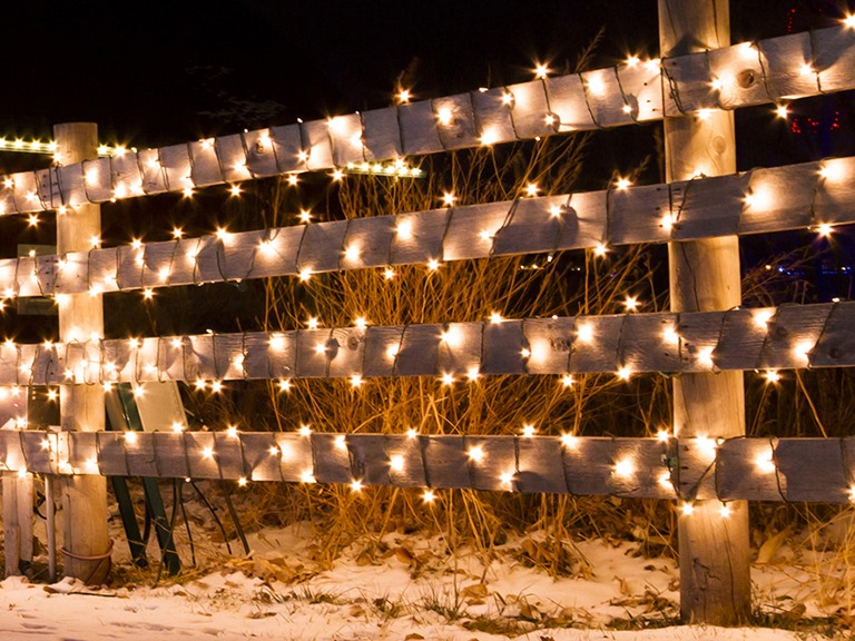 50 LED Solar String 12.5' Clip On Lights