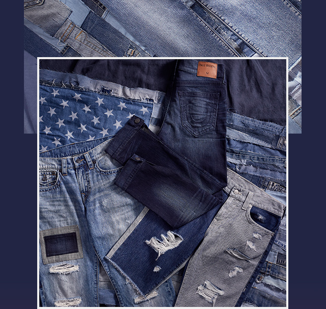 It's Denim Season - Distressed, shadow patching, and frayed hems in the most popular styles for summer.