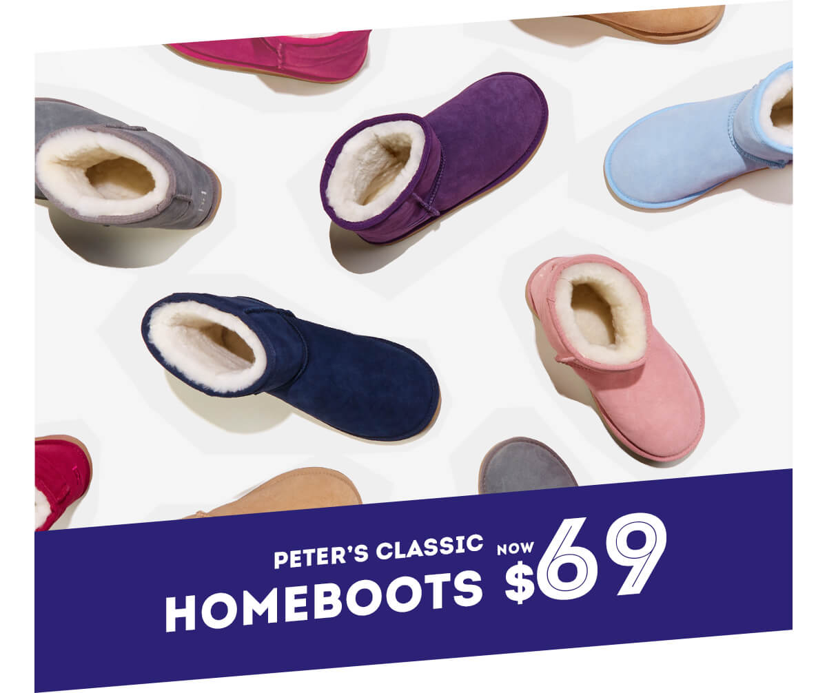 Peter's Classic Homeboots NOW $69