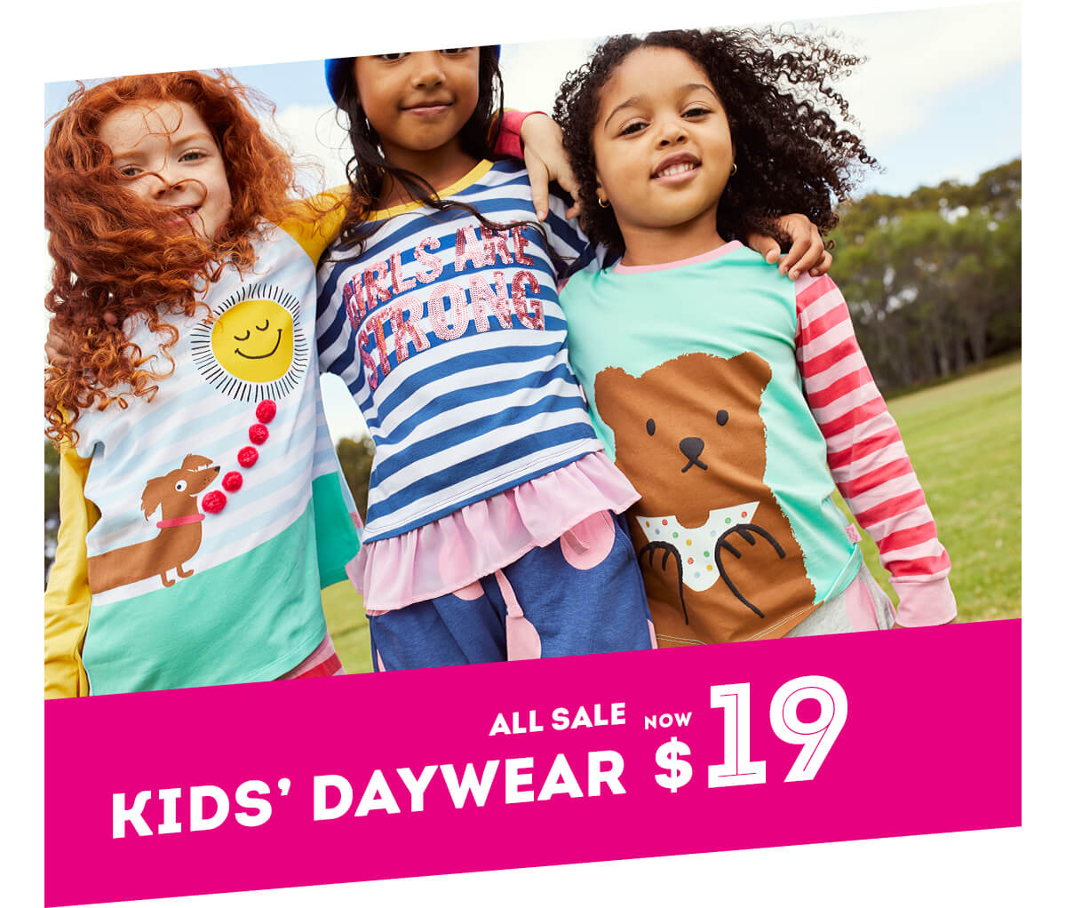 All Sale Kids' Daywear NOW $19