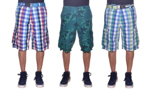 BlackJack Young Men's Cargo Shorts