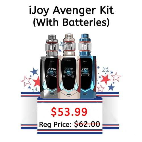iJoy Avenger Starter Kit (With Batteries)