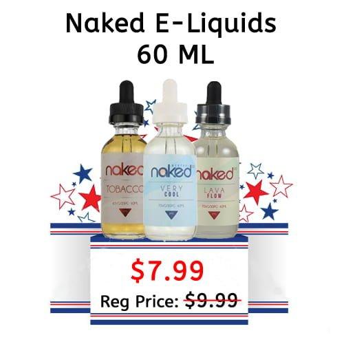 Naked | Menthol | Tobacco E-Liquids - 60 ML