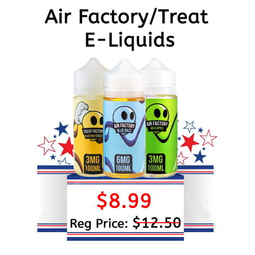Air Factory/ Treat Factory E-Liquids - 100 ML