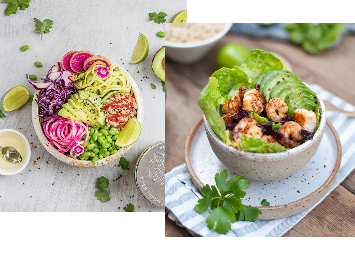 Get the recipes for these tasty AND healthy summer salads!