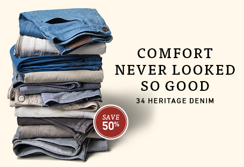 34 Heritage - comfort never looked so good.