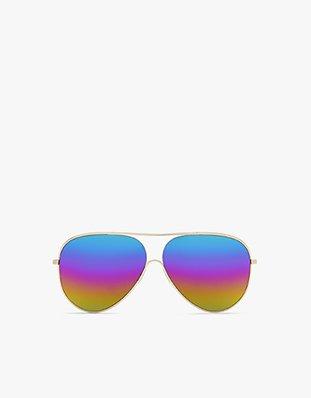 Loop Aviator with rainbow lenses