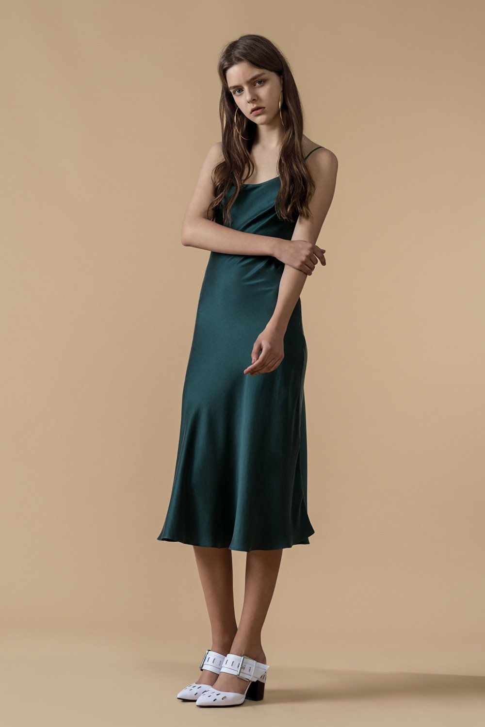 Slip on Silk Dress