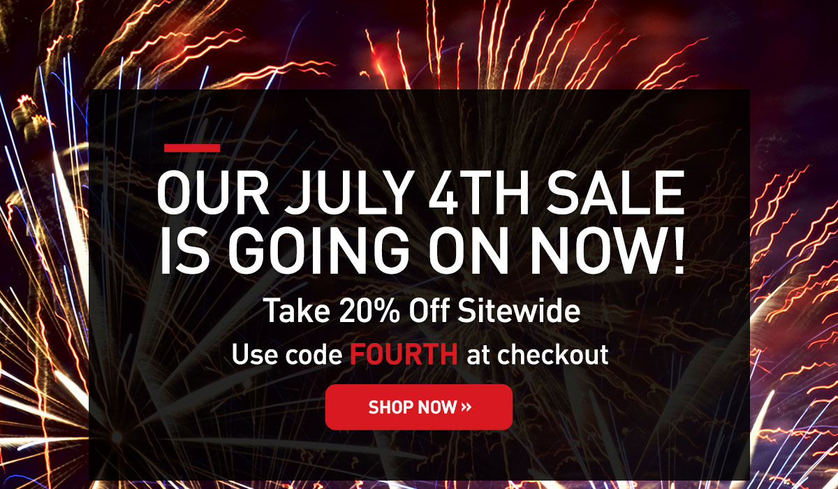 Our July 4th Sale Is Going On Now. Take 20% off sitewide. Use code FOURTH at checkout. Shop now.