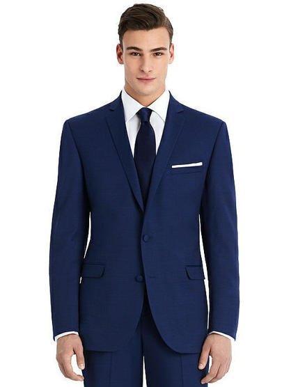 New Blue Slim Suit Jacket - The Harrison