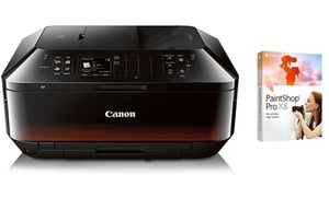 Canon Pixma All-in-One Wireless Printer with Corel PaintShop Pro X8