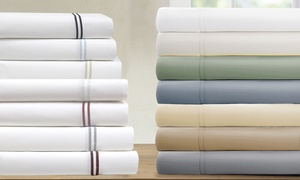 1,000TC Italian Hotel Collection Cotton-Rich Sheet Set