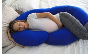 Full Body Pregnancy Pillow with Jersey Cotton Cover