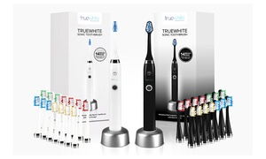 truewhite Advanced Care Sonic Toothbrush with 14 Brush Heads