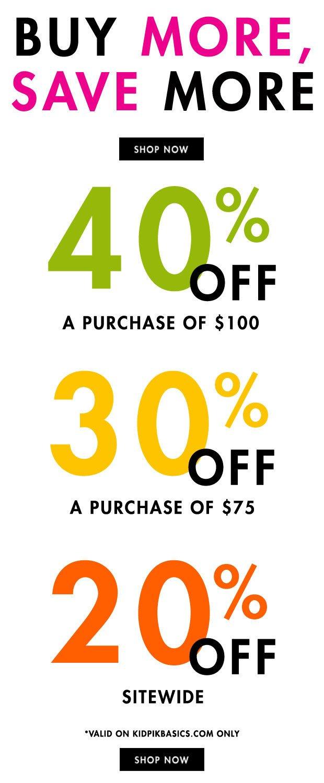 kidpik basics sale