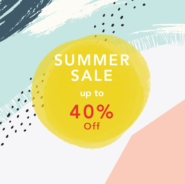 Summer Sale up to 40% off
