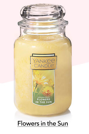 Flowers in the Sun Large Classic Jar Candle