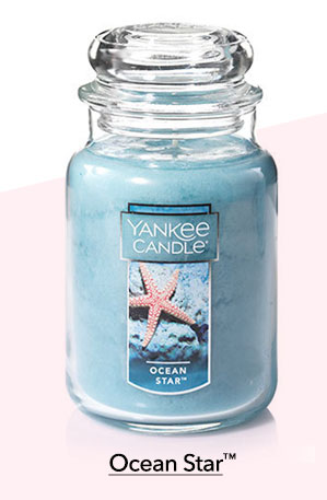 Ocean Star Large Classic Jar Candle