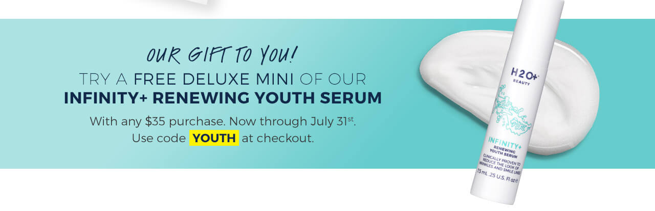 Free Infinity+ Renewing Youth Serum Deluxe Mini