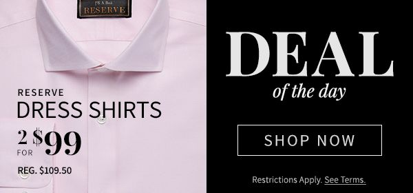 Deal of the Day, Shop Now>