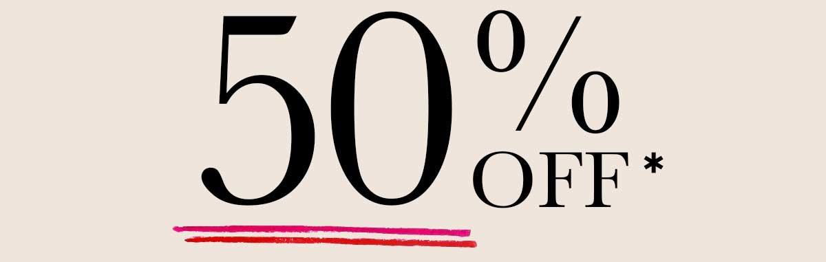 50% OFF New Arrivals