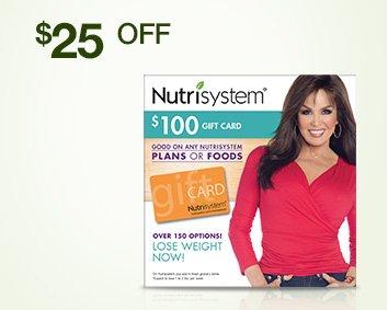 Nutrisystem $100 eGift Card