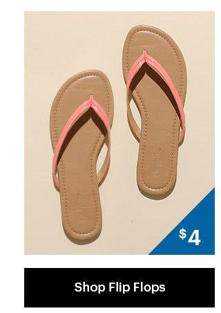 $4 Flip Flops