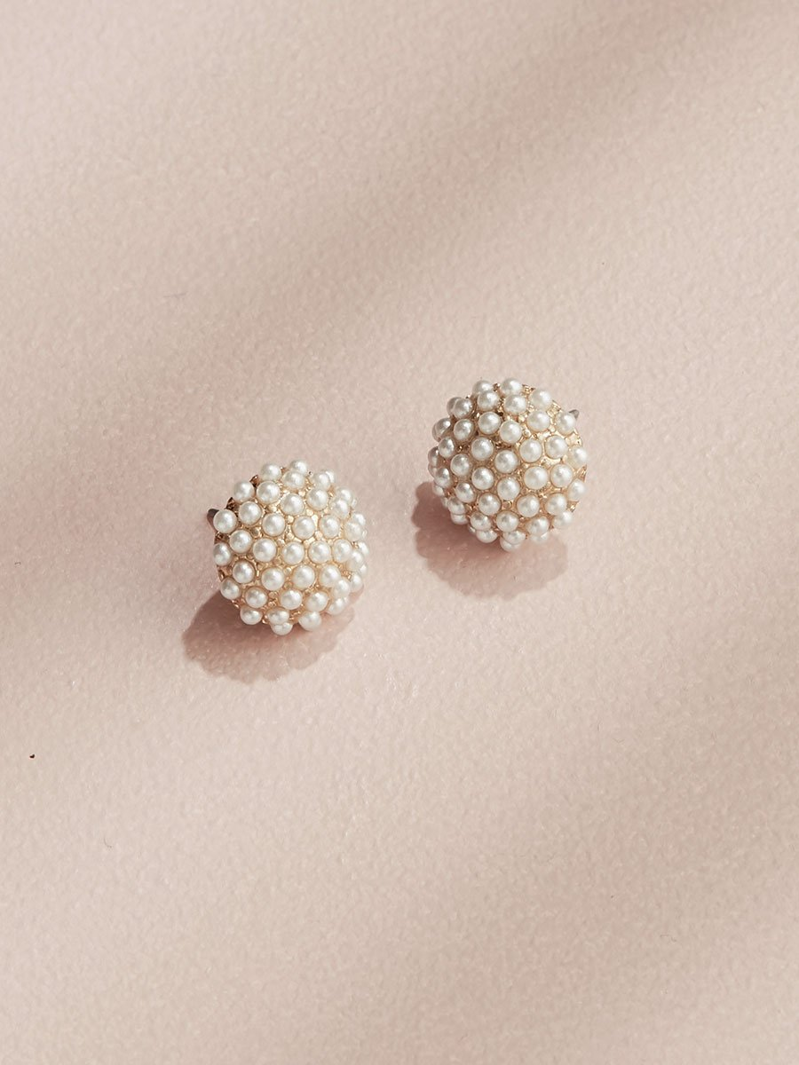 Pearl Pave Studs