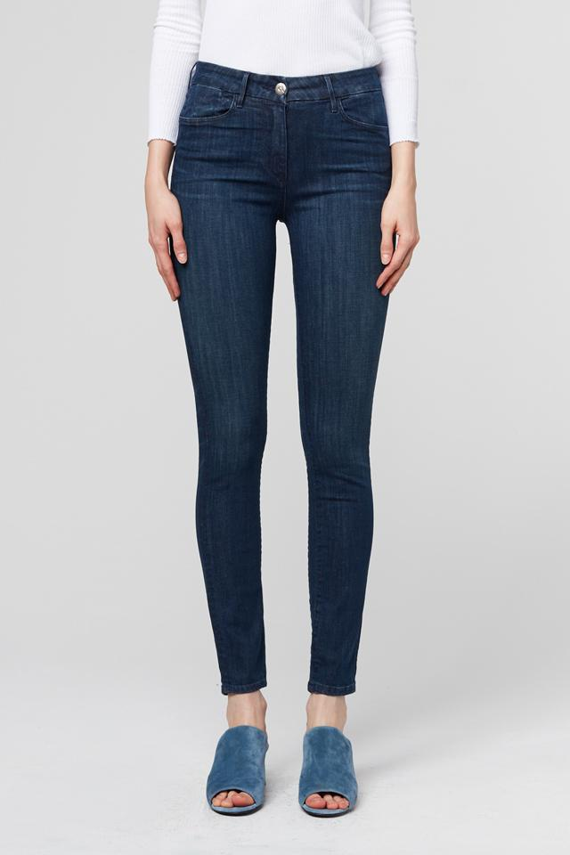 W3 High Rise Channel Seam Skinny in No. 3