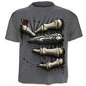 Men's Active Plus Size Cotton T-shirt - S...