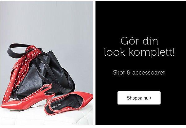 Skor & accessoarer >>